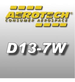 D13-7W - Reloads 18 mm Aerotech