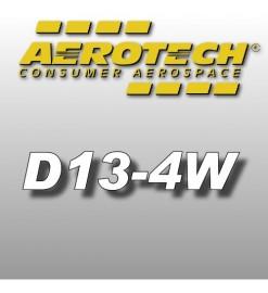D13-4W - Ricariche 18 mm Aerotech