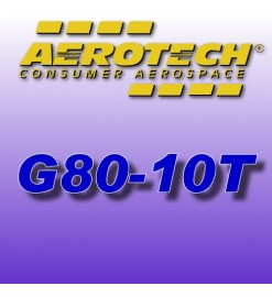G80-10T - Aerotech Single Use Rocket Motor 29 mm