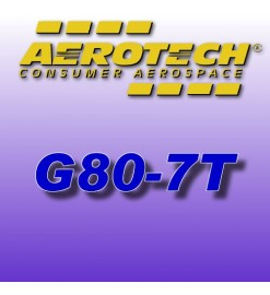 G80-7T - Aerotech Single Use Rocket Motor 29 mm