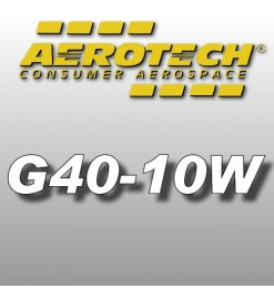 G40-10W - Aerotech Single Use Rocket Motor 29 mm