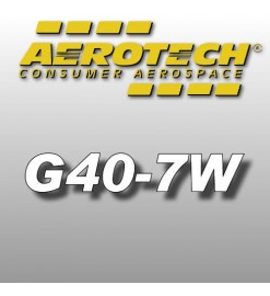 G40-7W - Aerotech Single Use Rocket Motor 29 mm