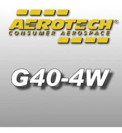 G40-4W - Aerotech Single Use Rocket Motor 29 mm