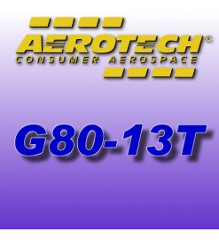 G80-13T - Aerotech Single Use Rocket Motor 29 mm