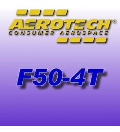 F50-4T - Aerotech Single Use Rocket Motor 29 mm