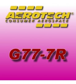 G77-7R - Aerotech Single Use Rocket Motor 29 mm