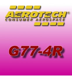 G77-4R - Aerotech Single Use Rocket Motor 29 mm