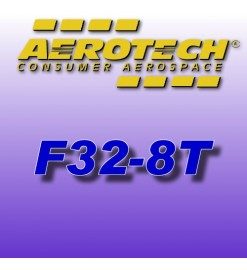 F32-8T - Aerotech Single Use Rocket Motor 24 mm