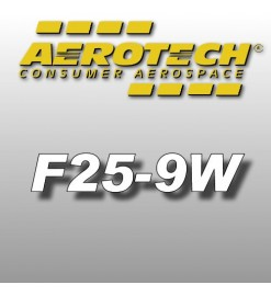 F25-9W - Aerotech Single Use Rocket Motor 29 mm