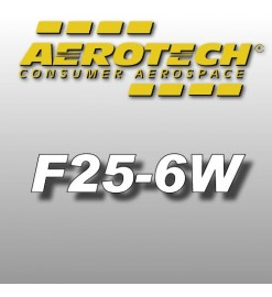 F25-6W - Aerotech Single Use Rocket Motor 29 mm