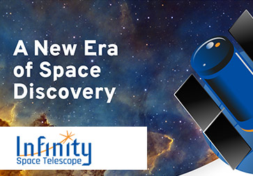 Infinity - Space telescope for amateurs